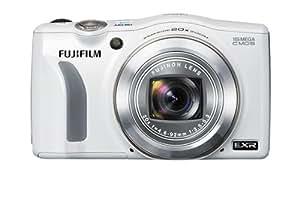 Fujifilm FinePix F770EXR Digitalkamera (16 Megapixel, 20-fach opt. Zoom, 7,6 cm (3 Zoll) Display, bildstabilisiert) weiß