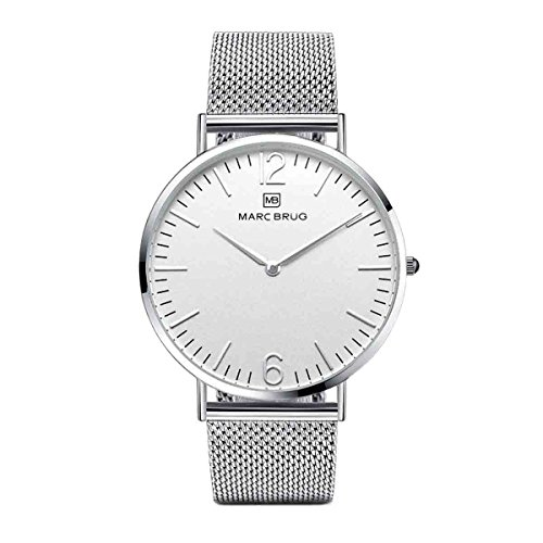 Marc Brüg Men's Minimalist Watch Elysee 41