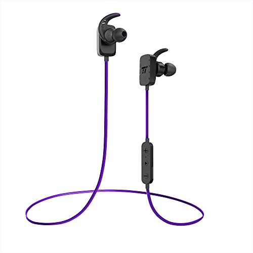 TaoTronics BH10 Sweatproof Bluetooth in Ear Earbuds with Mic & Secure Ear Hooks