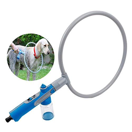 H-ONG Pet Bathing Ring 360 Degree Automatic Pet Supplies Dog Shower Bath Artifact Hair Washing Machine Beauty Cleaning Tool -