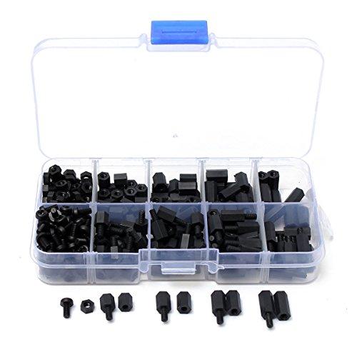 pieces-de-vis-hex-toogoor300-pcs-m3-nylon-noir-m-f-pieces-de-vis-hex-assortiment-decrou