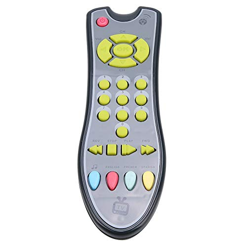 Jacksking Jouet d'apprentissage de bébé, Musique de bébé TV télécommande numéros électriques d'apprentissage Jouet éducatif pour Enfants, Jouet de contrôle à Distance(#2)