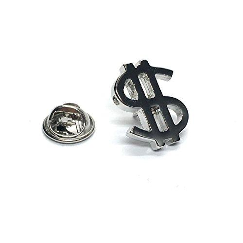 rhodium-plated-dollar-sign-lapel-pin-badge-x2ajtp575