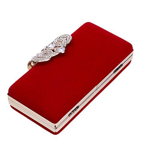 Eysee, Poschette giorno donna Rosso rosso 16.5cm*8cm*4.5cm rosso