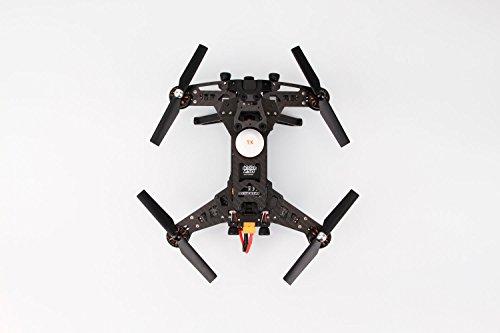 XciteRC 15003600 - FPV Racing-Quadrocopter Runner 250 RTF - FPV-Drohne mit HD Kamera, Akku, Ladegerät und Devo 7 Fernsteuerung - 5