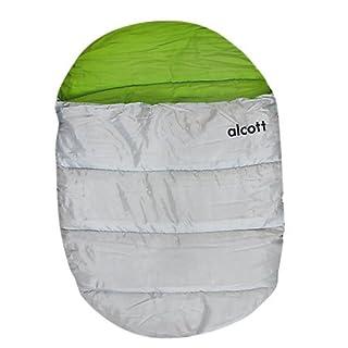 Alcott BBL EX MD SB Schlafsack, Größe M, grün-grau