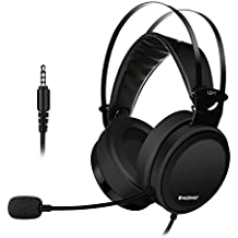 ELEGIANT Gaming Headset, Gaming Headphone Over-Ear-Kopfhörer Gaming Kopfhörer mit Mikrofon einstellbarem Kopfbügel Noise Cancelling Headphones Super Stereo für Nintendo Switch PS4, PC, Laptop, Tablet