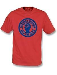 PunkFootball Dagenham & Red Keep the Faith T-shirt, Color Red