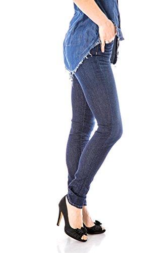 PLEASE - P56 t90 jeans femme slim fit pantalons Denim Foncé