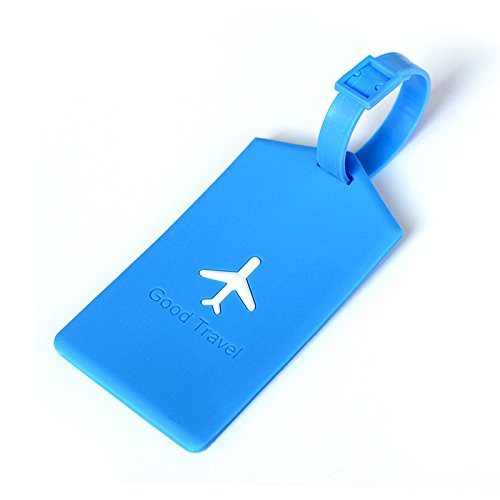 Luggage Tag Silica Gel Suitcase ID Addres Holder Baggage Boarding Tags Portable Label Travel Accessories