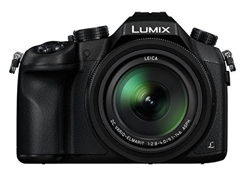 Panasonic DMC-FZ1000EB Lumix Bridge Wi-Fi Camera | 4K Photo & Video | Super Zoom Camera 25-400mm Leica Camera Lens | Wildlife Camera | Black Colour