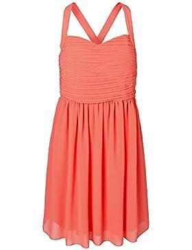Vero Moda Kleid Kristen Pleat Short Dress NFS Pink 10122298