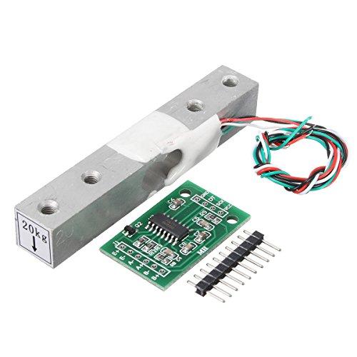 Bluelover hx711 Modul + 20Kg Aluminiumlegierung Waage Wägesensor Lastzelle Kit Für Arduino