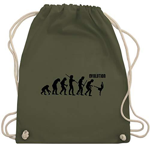 (Evolution - Modern Dance Evolution - Unisize - Olivgrün - WM110 - Turnbeutel & Gym Bag)
