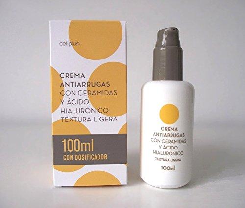 Falten-Creme mit Ceramiden und Hyaluronsäure Deliplus - Leichte Textur (100ml+100ml)