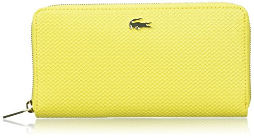 Lacoste Damen Nf2070ce Taschenorganizer, 10.5 x 2.5 x 20 cM YELLOW EMPIRE (Empire Yellow)