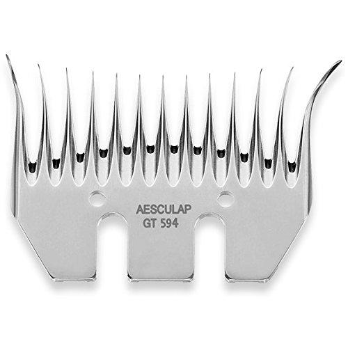 Aesculap Accessoires de rasage Peigne Aesculap GT 594 sous plaque 13Z 86 mm Largeur de coupe