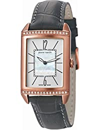 Pierre Cardin Damen-Armbanduhr Celebrite Analog Quarz Leder Swiss Made