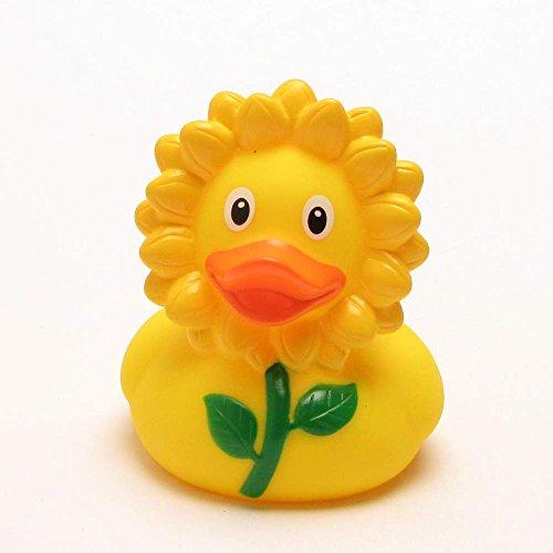 Unbekannt Badeente, Quietscheente, Ente, Sonnenblumen Ente