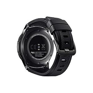 Schwarze Gear-S3Smartwatch von Samsung