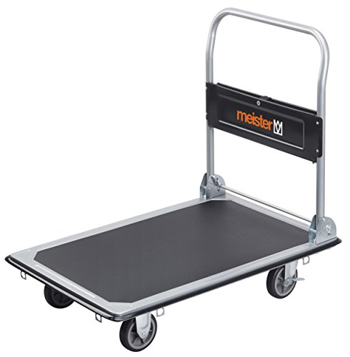 Meister 8985540 Chariot Plateforme Pliable, 300 kg