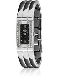 Radiant 72099 - Reloj de Señora plata/negro
