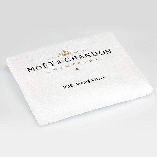 Imperial ice drap de plage et baluchon moët chandon (champagne)