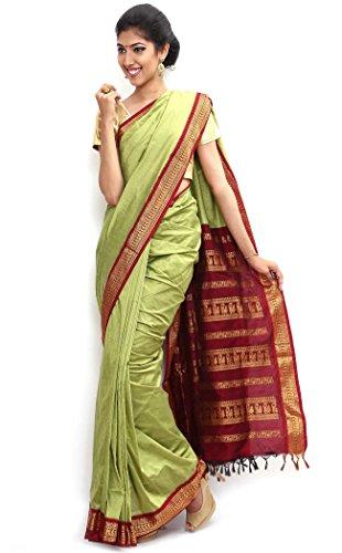 Sudarsahan Silks South Karantaka Span Cotton Silk Saree [SBTI7_Multicolor]