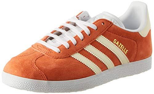 adidas Damen Gazelle W Gymnastikschuhe, Orange Rawamb/E Cr Tin/Ftwwht, 38 EU