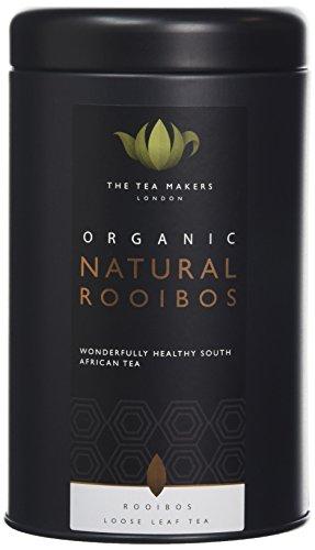 The Tea Makers of London Organic Rooibos (Red Bush) Tea 125 g Caddy