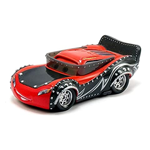 Disney Cars Heavy Metal Lightning McQueen - Heavy Metal Mater DieCast Fahrzeug die the World of Cars