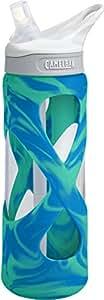 Camelbak Eddy Glass Trinkflasche, Aqua Ice Grün-Blau, 0.7 Liter