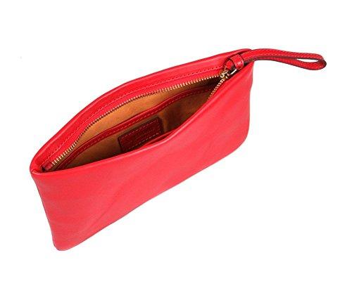 Sage Brown , Pochette pour femme taille unique red