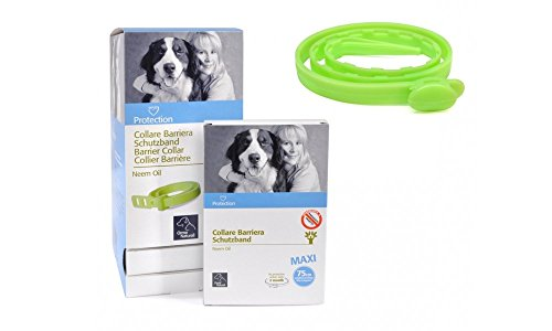 Camon Collare barriera MAXI all'olio di Neem per Cane - lunghezza cm. 75
