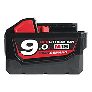 Milwaukee M18B9 M18 9.0Ah Red Lithium-Ion Battery NEW