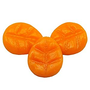 Bougie shentchips Mini parfum melon Orange cm.4x 3,5