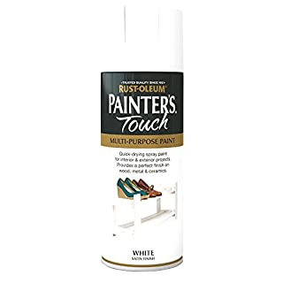 Rust-Oleum 400ml Painters' Touch Spray Paint - Satin White