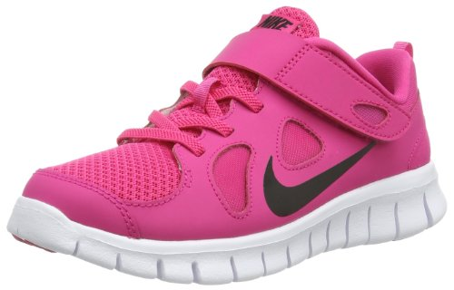 Nike  Free 5.0, basket fille Rose - Pink (Vivid Pink/Black-White)