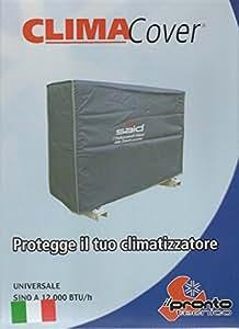 Telo protettivo climatizzatore cappottina in pvc per for Climatizzatori amazon