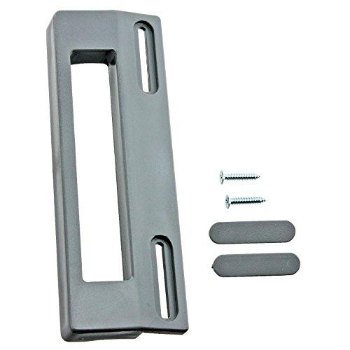 Spares2go Türgriff für Bosch Kühlschrank Gefrierschrank, 200 mm, Chrom/Silber