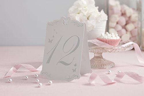 Schmetterling Tischnummern 1-12 - 2