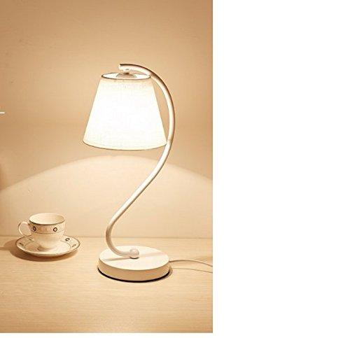 CLG-FLY Lampada tavolo decorativa semplice e moderno Lampade comodino camera da letto creativo lavoro di scrivania e studio tavolo lampada
