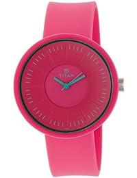 Titan Youth Analog Pink Dial Women's Watch - 9953PP01J