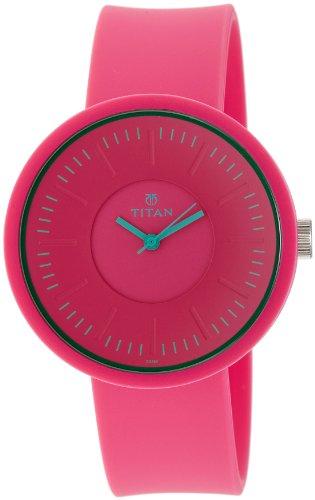 41p ocxfMpL - Titan 9953PP01J Youth Pink Women watch