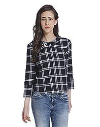 ONLY Womens Button Down Shirt (15145775_Black_36)