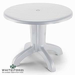 DAYTONA Bistro Tisch Finish: Weiß