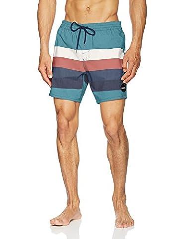 O'Neill Herren Horizon Shorts Boardshorts, Grün Aop, L