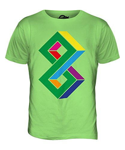 CandyMix Unmögliche Herren T Shirt Limettengrün