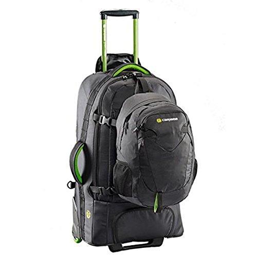 Caribee Fast Track Travel Pack Trekking Rucksack, 68cm, 75Liter, schwarz (Bag Wheeled Travel)