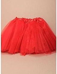 b815623cb1 Falda de Ballet Tutu para Niños Niñas Red Net Disfraces Danza Cumpleaños